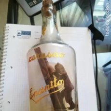 Botellas antiguas: BOTELLA ANTIGUA BACIA DE CURASAO EL ENANITO.. Lote 234679400