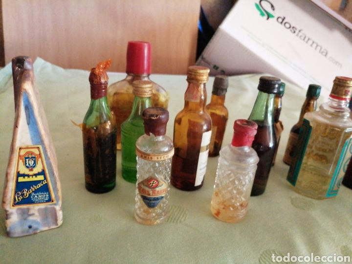 Botellas antiguas: Lote de varías botellas en miniatura - Foto 8 - 234682825