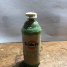 Botellas antiguas: BOTELLITA DE SIDOLCROM (PARA LIMPIAR Y ABRILLANTAR LOS METALES SIDOL (TAL Y COMO SE VE EN LAS FOTOS). Lote 236221985
