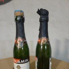 Botellas antiguas: 2 BOTELLAS BENJAMIN CODORNIU. Lote 238513330