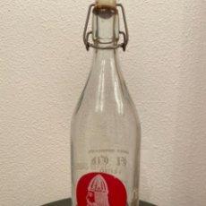 Botellas antiguas: BOTELLA BEBIDA GASEOSA EL CID. Lote 238767985