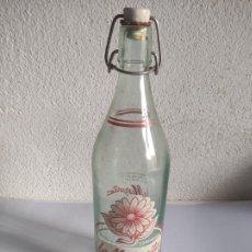 Botellas antiguas: BOTELLA DE GASEOSA LA MARGARITA - LA CASESA - AÑOS 70. Lote 241754670
