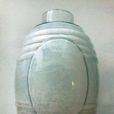 Botellas antiguas: ANTIGUA BOTELLA GARRAFA DE CRISTAL - MEDIDA 23X15 CM. Lote 243334600