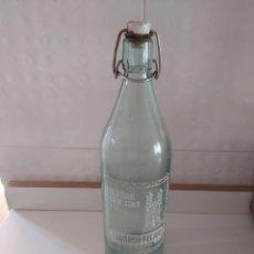 Botellas antiguas: GASEOSA. Lote 244005765