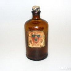 Botellas antiguas: ANTIGUA BOTELLA DE ESENCIAS Y PERFUMES - THE STANDARD PERFUMES - FÓRMULAS EN EL DORSO.. Lote 246427450