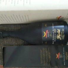 Botellas antiguas: CAVA(40AÑOS) DE LAS OLIMPÍADAS DE BARCELONA 92.FREIXENET CON LA CAJA Y CARTA D. O.. Lote 248203390
