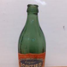 Botellas antiguas: ANTIGUA BOTELLA DE AGUA FONTIER 500CL. Lote 250242220
