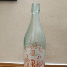 Botellas antiguas: GASEOSA LA PASTORA CASTELLAR JAEN.. Lote 251434205