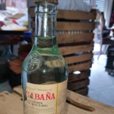 Botellas antiguas: ANTIGUA BOTELLA AGUA DE CARABAÑA. Lote 254729870
