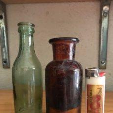 Botellas antiguas: BOTELLAS PEQUEÑAS. Lote 258092235