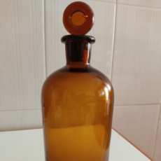 Botellas antiguas: BOTELLA DE FARMACIA TOPACIO 1 LITRO. Lote 260584835