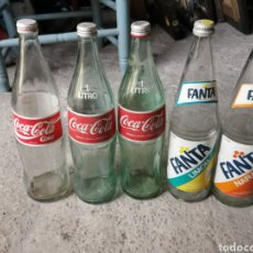 Botellas antiguas: BOTELLAS ANTIGUAS. Lote 262008345
