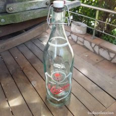 "Botellas antiguas: BOTELLA DE GASEOSA ""LA CASERA"". Lote 264294168"