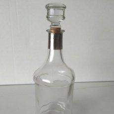 Botellas antiguas: ANTIGUA Y ELEGANTE BOTELLA DE CRISTAL, LICOR JEREZ, GONZÁLEZ BYASS. TAPÓN DE CRISTAL. VACÍA. Lote 264756689