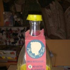 Botellas antiguas: ANTIGUA BOTELLA DE PLÁSTICO DE PLÁSTICOS TATAY.. Lote 268181034