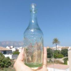 Botellas antiguas: ANTIGUA BOTELLA GASEOSA BLANDINIERES TARRAGONA 33 CL. Lote 273158653