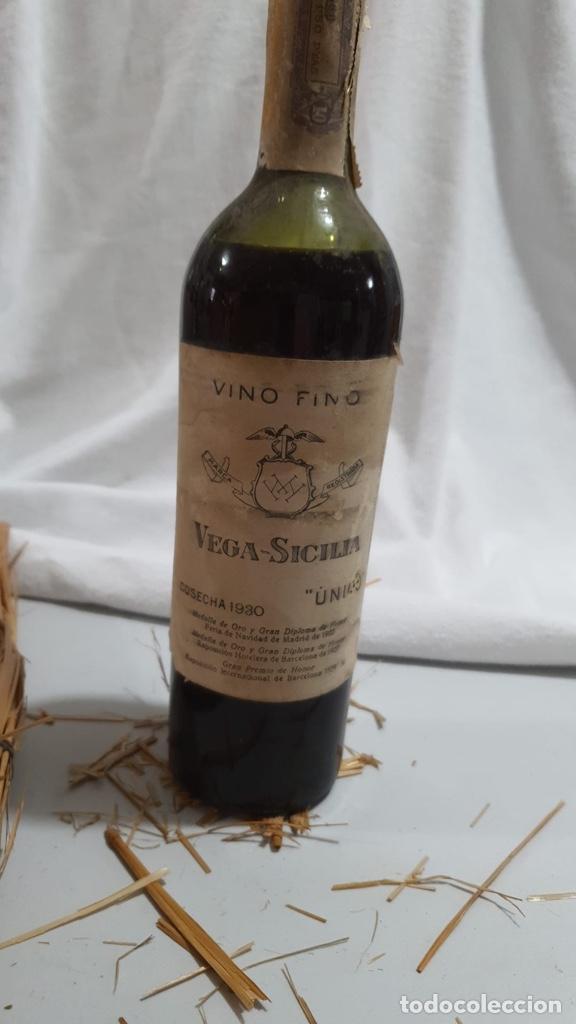 """BOTELLA VINO TINTO VEGA SICILIA """"UNICO"""" COSECHA 1930 (Coleccionismo - Botellas y Bebidas - Botellas Antiguas)"""