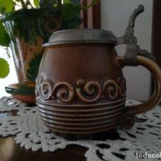 Botellas antiguas: JARA CERVEZA. Lote 274746893