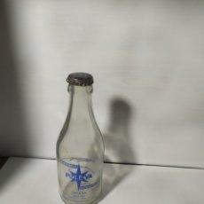 Botellas antiguas: BOTELLAS ANTIGUAS LECHE. Lote 278539633