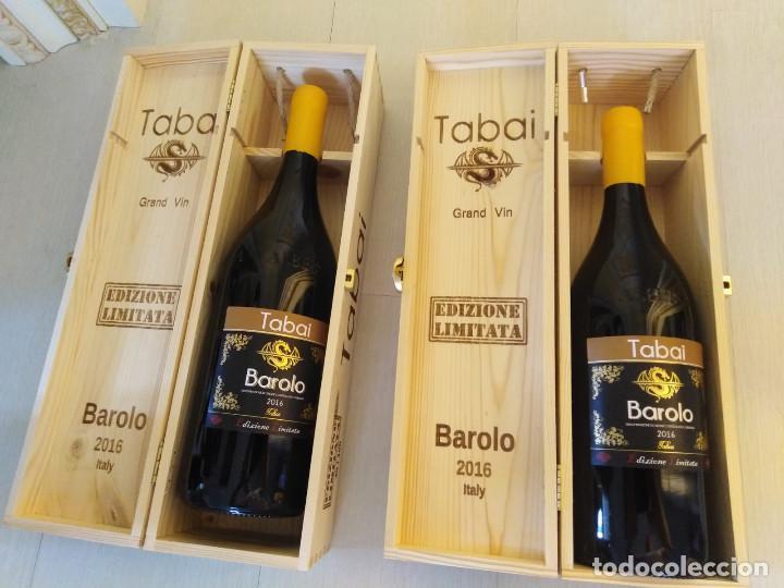 Botellas antiguas: 2 magnum barolo edizione limitata annata 2016 - Foto 4 - 280640653