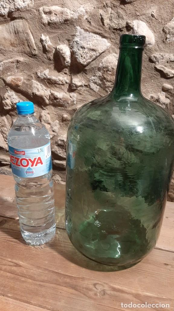 Botellas antiguas: GARRAFA DAMAJUANA - Foto 3 - 288534423