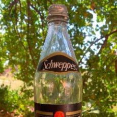 Botellas antiguas: BOTELLA DE SCHWEPPES, SODA WATER, RARA. Lote 290111098