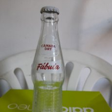 Botellas antiguas: ANTIGUA BOTELLA DE CANADÁ DRY,FABULA. Lote 294568813