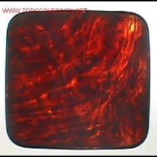 Cajas y cajitas metálicas: CAJITA DE BAQUELITA TRANSPARENTE.. Lote 25708307