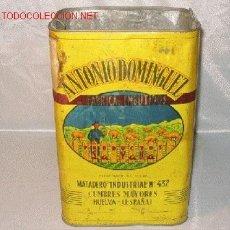 Cajas y cajitas metálicas: CAJA DE HOJALATA. Lote 3589309