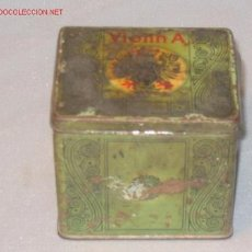 Cajas y cajitas metálicas: CAJA DE HOJALATA. Lote 3602170