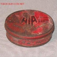 Cajas y cajitas metálicas: CAJA DE HOJALATA. Lote 3589303