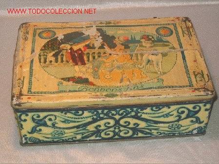CAJA DE CHAPA (Coleccionismo - Cajas y Cajitas Metálicas)