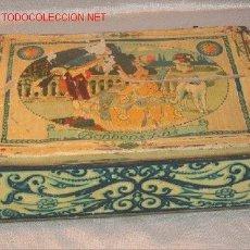 Cajas y cajitas metálicas: CAJA DE CHAPA. Lote 3602167