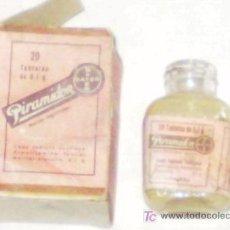 Cajas y cajitas metálicas: PIRAMIDON DE BAYER. REGALO DE PUBLICIDAD.. Lote 21364487