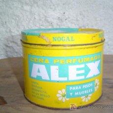 Cajas y cajitas metálicas: CAJA CERA PERFUMADA ALEX. Lote 6114687