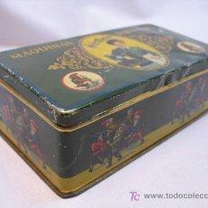 Cajas y cajitas metálicas: ANTIGUA CAJA DE HOJALATA DE MAQUINAS DE COSER. Lote 25407019
