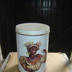 Cajas y cajitas metálicas: LATA DE CAFE. Lote 7883686