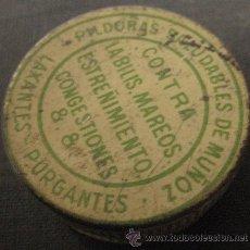 Cajas y cajitas metálicas: CAJITA DE LAXANTES. Lote 7962654