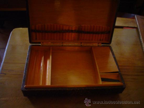 Cajas y cajitas metálicas: CIGARRERA DE MESA - Foto 2 - 26602380