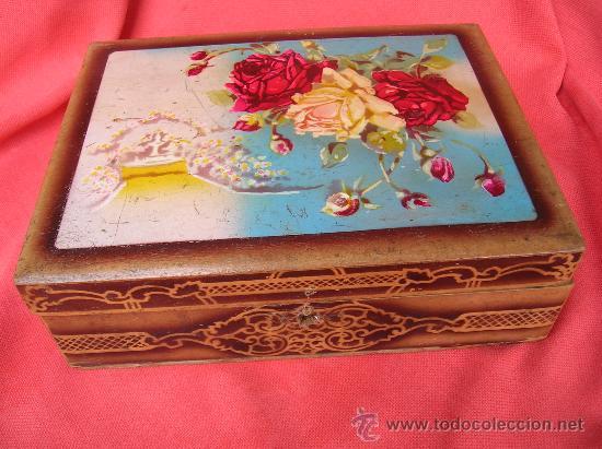 CAJA COSTURERO (Coleccionismo - Cajas y Cajitas Metálicas)