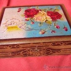 Cajas y cajitas metálicas: CAJA COSTURERO. Lote 24723756
