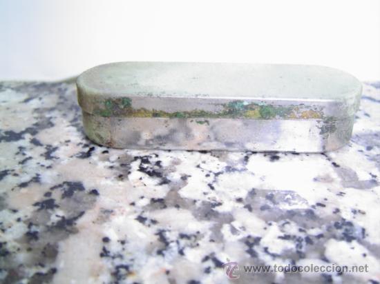 CAJA PARA GUARDAR AGUJAS (Coleccionismo - Cajas y Cajitas Metálicas)