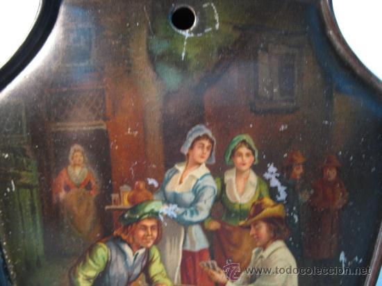 Cajas y cajitas metálicas: CAJA DE HUNTLEY PALMERS, BISCUIT, MANUFACTURES, ENGLAND - Foto 2 - 10795645