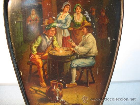 Cajas y cajitas metálicas: CAJA DE HUNTLEY PALMERS, BISCUIT, MANUFACTURES, ENGLAND - Foto 3 - 10795645