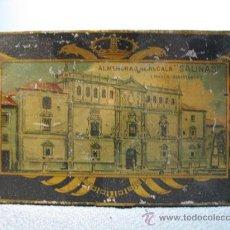 Cajas y cajitas metálicas: CAJITA METALICA ALMENDRAS DE ALCALA SALINAS. Lote 10900675