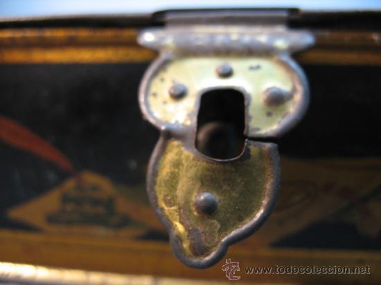 Cajas y cajitas metálicas: CAJITA METALICA ALMENDRAS DE ALCALA SALINAS - Foto 2 - 10900675