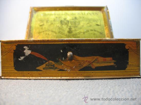 Cajas y cajitas metálicas: CAJITA METALICA ALMENDRAS DE ALCALA SALINAS - Foto 3 - 10900675