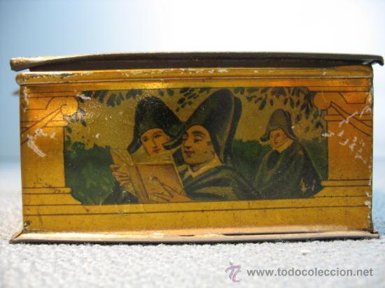 Cajas y cajitas metálicas: CAJITA METALICA ALMENDRAS DE ALCALA SALINAS - Foto 5 - 10900675