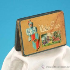 Cajas y cajitas metálicas: BONITA !!! CAJA DE CHAPA - RITTER GERO - 1930 / 35. Lote 9700123