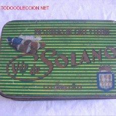 Cajas y cajitas metálicas: CJA DE HOJALATA. Lote 3129354